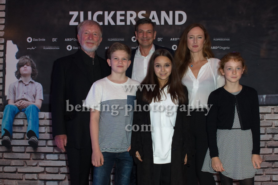 ZUCKERSAND, Interview und Photo Call, Berlin, 25.09.2017