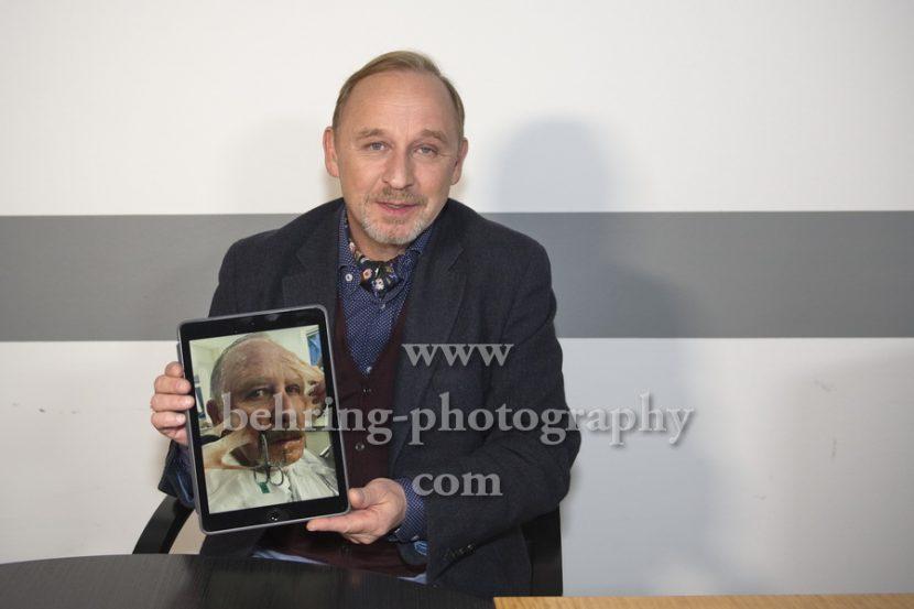 """Alexander HELD, Photo- und Interviewtermin zum Dreiteiler """"TANNBACH"""", im ZDF-Hauptstadt-Studio, Berlin, 27.11.2017,"""