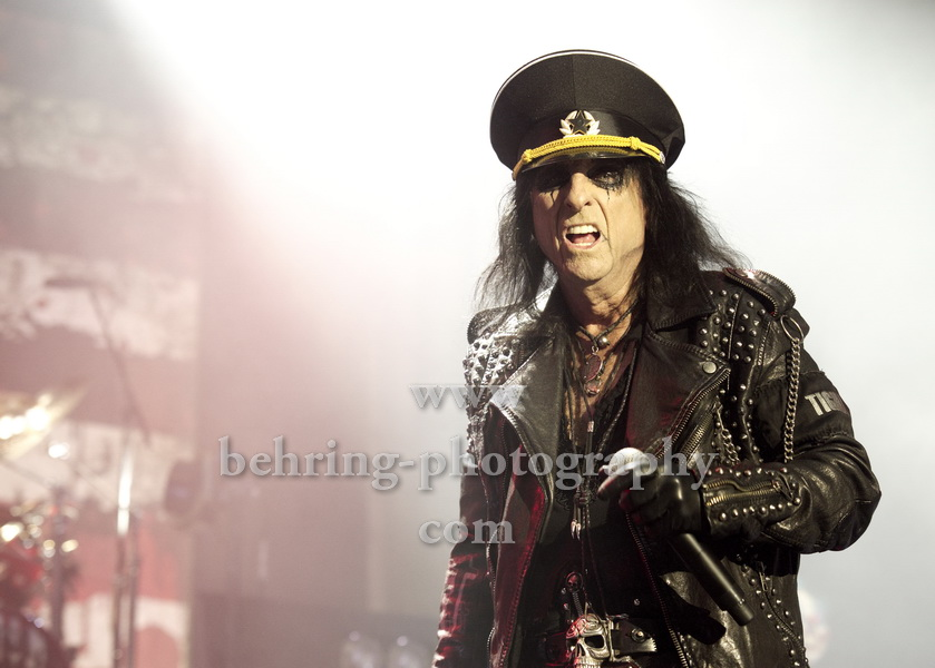 "ALICE COOPER, ""Spend the Night with Alice Cooper""-Tour, Konzert im Tempodrom, Berlin, 23.11.2017,"