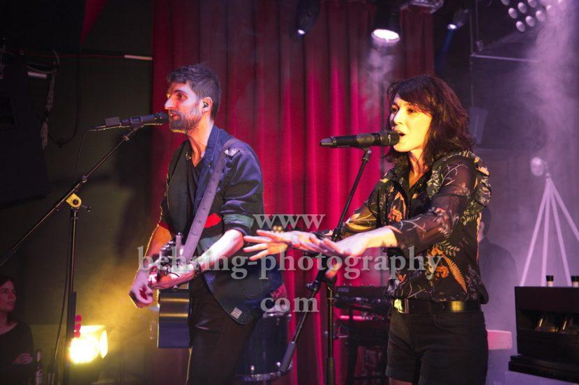 CARROUSEL, Sophie Burande und Leonard Gogniat, Konzert im Privatclub, Berlin, 21.11.2017