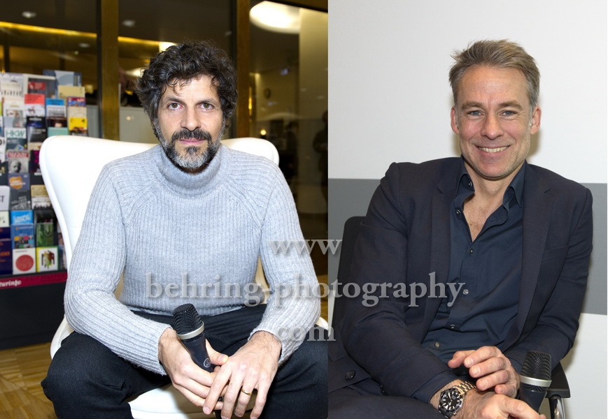 Pasquale Aleardi und Marco GIRNTH, Photo Call und Interview, Berlin, am 27.02.2018,