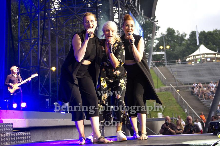 Ina MUELLER und Band, Konzert, Parkbuehne Wuhlheide, Berlin, 28.07.2018