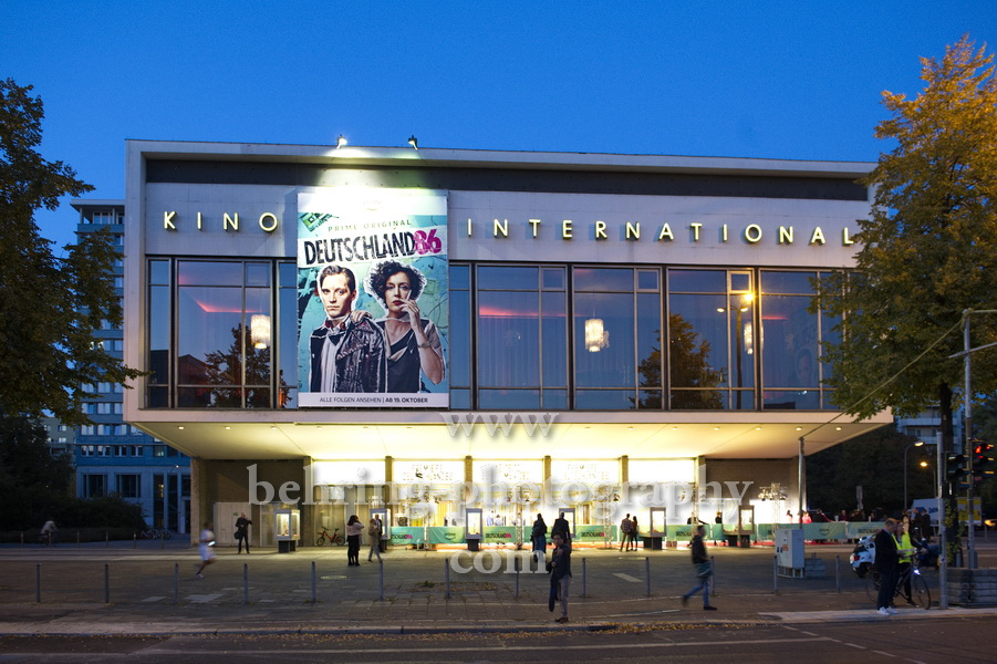 DEUTSCHLAND 86, Roter Teppich, Kino INTERNATIONAL, Berlin, 11.10.2018