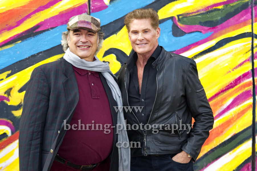 UP AGAINST THE WALL – MISSION MAUERFALL, Photocall, East Side Gallery, Berlin, 17.09.2019