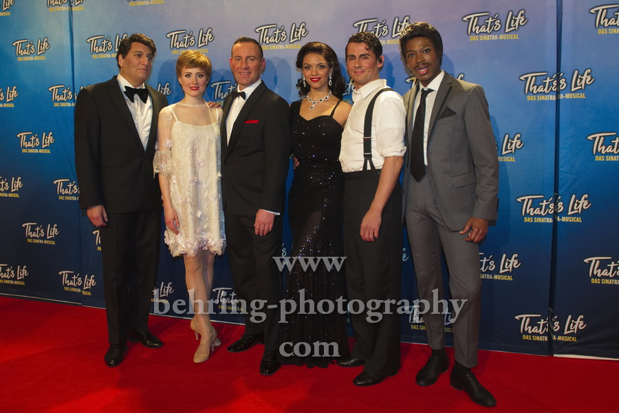 Thats Life - Das Sinatra-Musical, Roter Teppich zur Premiere, Theater Am Potsdamer Platz, Berlin, 08.01.2020