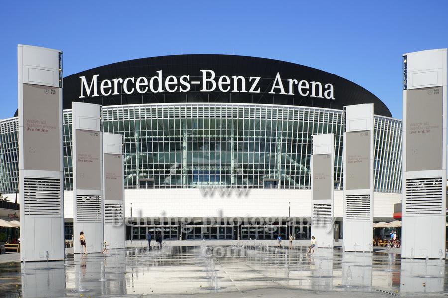 Mercedes-Benz Arena am Mercedes-Platz 1, 10243 Berlin, 30.06.2019 - die größte von Berlins Konzerthallen
