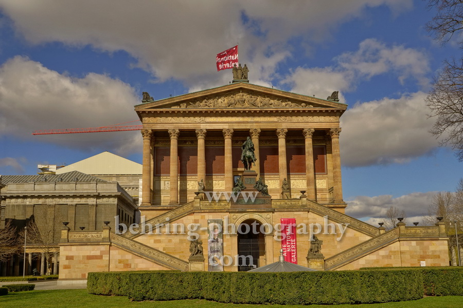 "Alte Nationalgalerie, ""Berliner Museen"", Berlin, 21.03.2020"