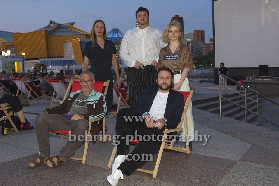 "DIE KÄNGURU-CHRONIKEN RELOAD3D"" Open-Air-Premiere, Arte Sommerkino Kulturforum, Berlin, 16.06.2020"