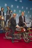 """""""25kmh"""", Lars Eidinger und Bjarne Maedel, Roter Teppich zur Premiere, CineStar am Sony Center, Berlin, 25.10.2018 (Photo: Christian Behring)"""