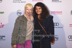 "Helga Seebacher, Sara Fazilat (""Rvolvo""), ""ACHTUNG BERLIN FESTIVALABSCHLUSS"", Photo Call, Kino Babylon, Berlin, 20.09.2020,"