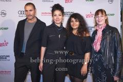 "Ali Ekber, Regisseurin Süheyla Schwenk, Produzentinnen Sara Fazilat und Roxana Richters (""Jiyan""), ""ACHTUNG BERLIN FESTIVALABSCHLUSS"", Photo Call, Kino Babylon, Berlin, 20.09.2020,"