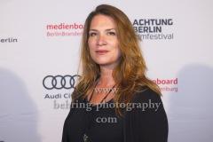 "Regisseurin Joana Vogdt (""Fliessende Grenze""), ""ACHTUNG BERLIN FESTIVALABSCHLUSS"", Photo Call, Kino Babylon, Berlin, 20.09.2020,"
