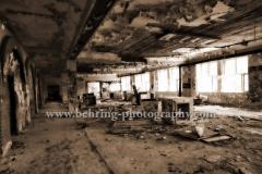 """""""Baerenquell Brauerei"""", Lost Places - Geheimnisvolle Orte - die ehemalige Brauerei in Schoeneweide, Berlin, 03.07.2013[Photo: Christian Behring]"""