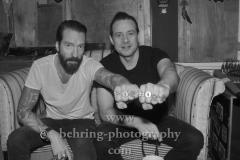 """""""THE BOSSHOSS"""", Alec Voelckel und Sascha Vollmer, Interview und Photoshooting im Internashville Studio zum neuen Album """"Black Is Beautiful"""" (Veroeffentlichung am 26.10.2018), Berlin, 26.09.2018,"""