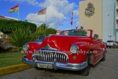 Buick Roadmaster Convertible, Parkplatz in Miramar, Havanna, Cuba, 29.01.2015 [(c) Christian Behring, www.christian-behring.com]