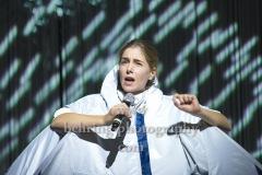 """Aysima Ergün, """"Death Positive - states of emergency"""", Fotoprobe am 30.09.2020 im GORKI Theater, Berlin, Premiere am 02.10.2020,"""