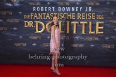 "Carmel Laniado, ""Die fantastische Reise des Dr. Dolittle"", Red Carpet Photocall, Zoo Palast, Berlin, 19.01.2020,"