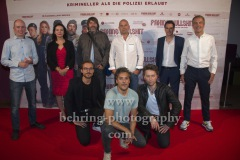 "Die Produzenten des Films, ""FAKING BULLSHIT"", Photo Call am Roter Teppich vor dem Cinemaxx am Potsdamer Platz, Berlin, 09.09.2020,"