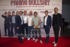 """Die Produzenten von Mavie Films, """"FAKING BULLSHIT"""", Photo Call am Roter Teppich vor dem Cinemaxx am Potsdamer Platz, Berlin, 09.09.2020,"""