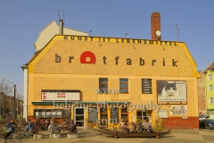 "Brotfabrik, Kunst- und Kulturzentrum am Caligariplatz 1 in Weissensee, ""STADTANSICHTEN"", Berlin, 27.03.2020"