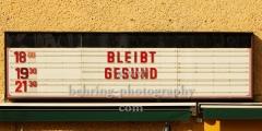 """Brotfabrik, Kunst- und Kulturzentrum am Caligariplatz 1 in Weissensee, """"STADTANSICHTEN"""", Berlin, 27.03.2020"""
