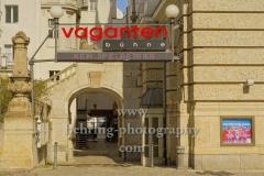 """Vagantenbuehne an der Kantstrasse, """"Verwaiste Plaetze und Orte"""", Berlin, 22.03.2020"""