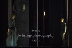 """Judith Engel, Paul Zichner, """"GESPENSTER"""" von Henrik Ibsen, Fotoprobe am 6.10. im Berliner Ensemble, Berlin, Premiere am 08.10.2020"""