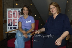 "Henriette Confurius und Sophie Kluge, ""GOLDENTWENTIES"" (ab 29.08.19 im Kino), Photocall im Kino International, Berlin, 19.08.2019 (Photo: Christian Behring)"
