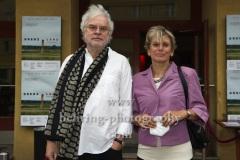 """Regisseur Andreas Voigt, Produzentin Barbara Etz, """"GRENZLAND"""", Premiere, Kino Babylon, Berlin, 09.07.2021"""