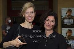 """Ina Weisse  mit Regisseurin Daphne Charizani, """"Im Feuer - Zwei Schwesternr"""" (Kinostart: 15.07.2021), Premiere im Kino Babylon, Berlin, 16.07.2021"""