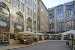 """leeres Restaurant Hackesche Hoefe, """"Geschlossene Gesellschaft"""", Berlin, 18.03.2020"""