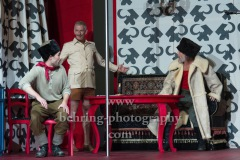 "Jeremy Mockridge, Bernd Moss, Martin Wuttke, ""Melissa kriegt alles"", Deutsches Theater, Berlin, Premiere: 29.08.2020"