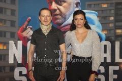 "Timo Jacobs und Elena Breeze, ""NATIONALSTRASSE"", Roter Teppich zur Berlin-Premiere, UCI LUXE, Berlin, 08.07.2020"