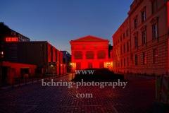 """Gorki Theater, """"NIGHT OF LIGHT"""", Aktion """"Night of Light"""" ist ein flammender Appell an die Politik zur Rettung der Veranstaltungswirtschaft in Deutschland, Berlin, 22.06.2020"""