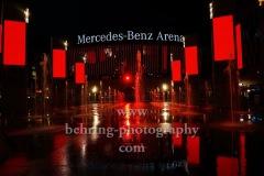 """Mercedes-Benz Arena, """"NIGHT OF LIGHT"""", Aktion """"Night of Light"""" ist ein flammender Appell an die Politik zur Rettung der Veranstaltungswirtschaft in Deutschland, Berlin, 22.06.2020"""