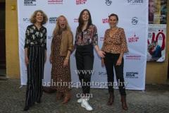 "Dulcie Smart, Rike Eckermann, Stephanie Wermeling, Mandy Rudski,  ""NÖ"", Premiere beim ""Achtung Berlin Festival"", Kino BABYLON, 10.09.2021"