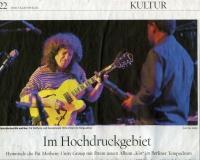 15-05-2014 Tagesspiegel Pat Metheny