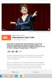 Gayle Tufts zu Besuch bei zibb, 30.10.2020