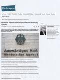 The European, 18.10.2020: Auswärtiges Amt