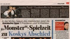 """""""Amazing Family"""", B.Z. vom 29.06.2021"""