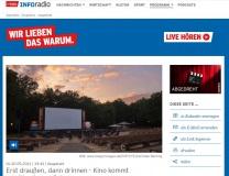 """""""Kino kommt"""", Inforadio vom 20.05.2021"""
