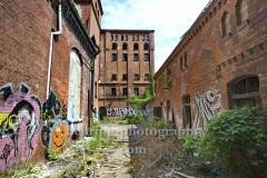 Ruine der ehemaligen Baerenquell Brauerei in Schoeneweide, am 03.07.2013 in Berlin, Germany