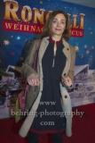 """Julia Richter, """"Roncalli Weihnachtscircus"""" (19.12.19 - 05.01.2020), Photocall am Roten Teppich zur Premiere, Tempodrom, Berlin, 19.12.2019"""