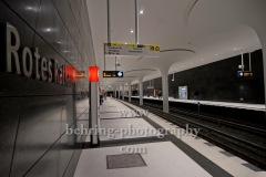 "U-Bahnhof, ""ROTES RATHAUS"", Berlin, 21.12.2020"
