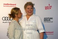 "Christina Große, Gisa Flake, ""SAG DU ES MIR"", Photo Call zur Premiere vor dem Kino Babylon, Berlin, 19.09.2020,"