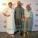 """Gisa Flake, Marc Ben Puch, Christina Große,  """"SAG DU ES MIR"""", Photo Call zur Premiere vor dem Kino Babylon, Berlin, 19.09.2020,"""