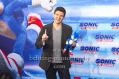 """Regisseur Jeff Fowler, """"SONIC Fan and Family Event"""", Blue Carpet Photocall, Zoo Palast, Berlin, 28.01.2020,"""