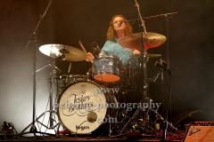 "Liam Gough (drums), ""The Teskey Brothers"", Konzert, Heimathafen Neukölln, Berlin, 07.02.2020"