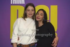 "Hanna Plass und Yasemin Cetinkaya, ""Think Big!"" (ab 07.02.20 10Folgen auf Sat.1), Photo Call, Glowy Beauty Bar, Berlin, 03.02.2020,"