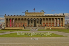 "Altes Museum und Lustgarten auf der Museumsinsel, ""Geschlossene Gesellschaft wegen Ausgangsbeschraenkungen"", Berlin, 21.03.2020"